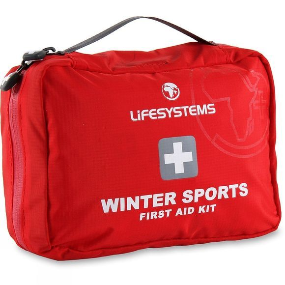 Lifesystems Winter Sports First Aid Kit Red