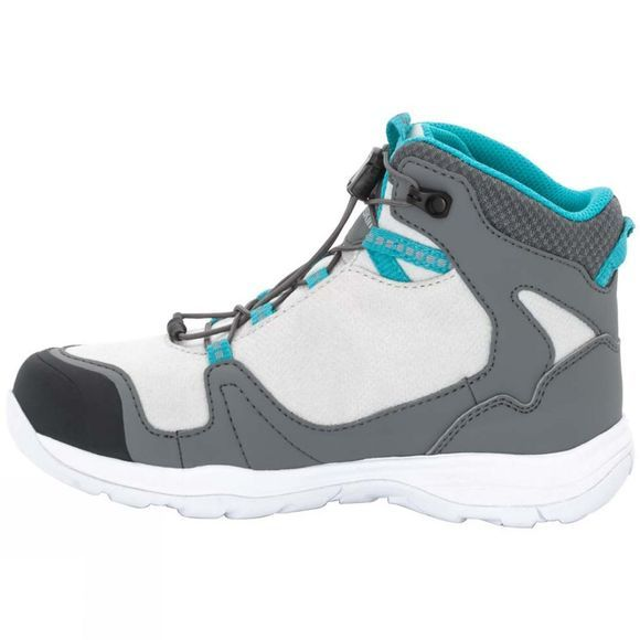 Jack Wolfskin Girls Grivla Texapore Mid Boot Tarmac Grey