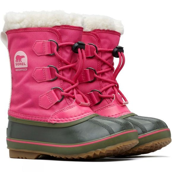 Sorel Girls Pac Nylon Boot Ultra Pink