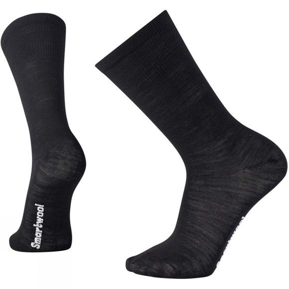 SmartWool Men's Liner Crew Socks Black