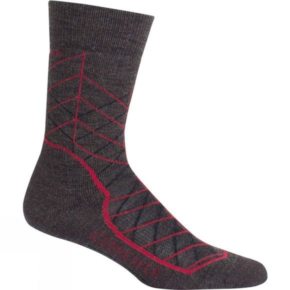 Mens Hike+ Medium Crew Metric Sock