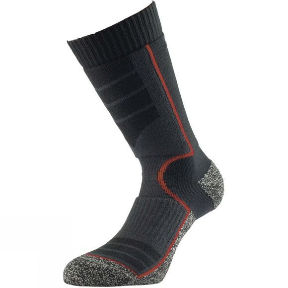 1000 Mile Ultra Performance Walking Sock with Cupron Black/Red