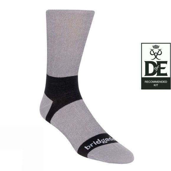 Bridgedale Mens Coolmax Liner Sock (2 pairs) Grey