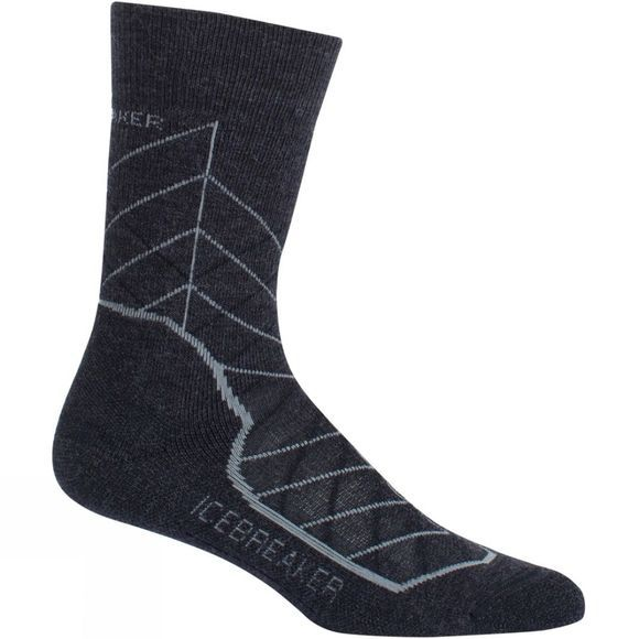 Womens Hike+ Medium Crew Metric Sock
