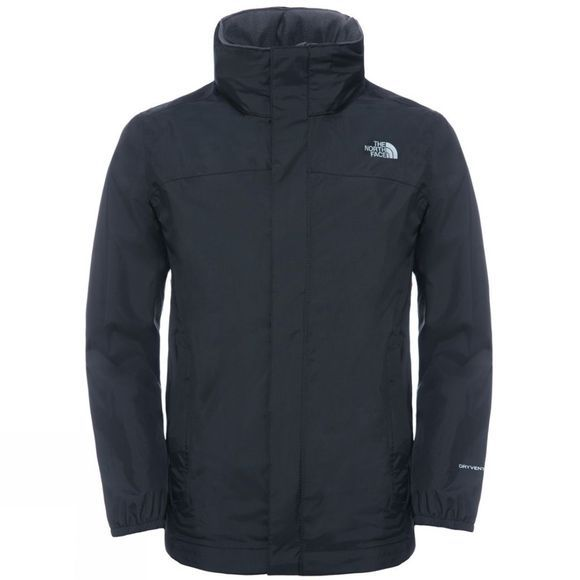 The North Face Boy's Resolve Jacket TNF Black