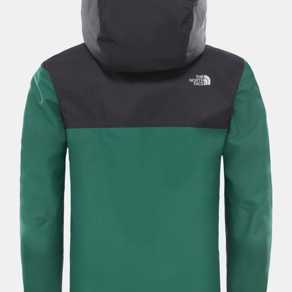 The North Face Boys Resolve Reflective Jacket Night Green