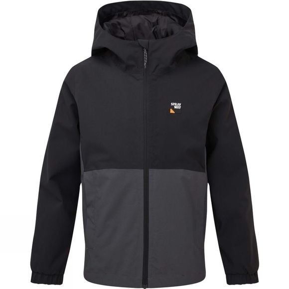 Sprayway Hergen Junior Jacket Black/Slate