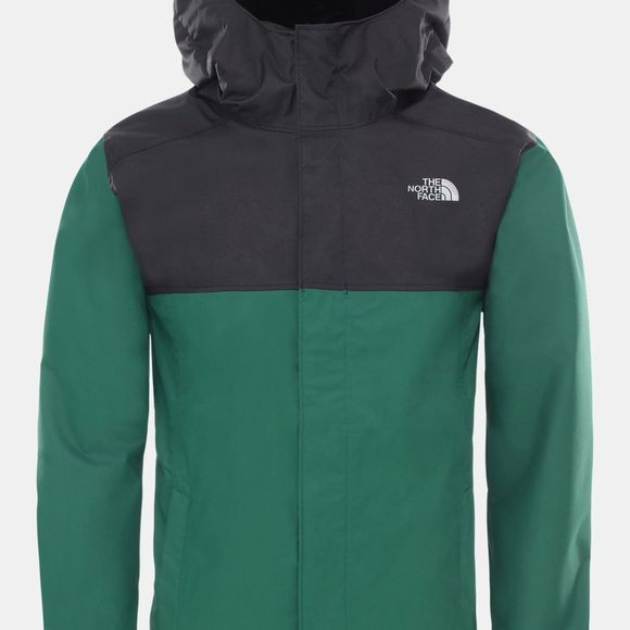 The North Face Boys Resolve Reflective Jacket Age 14+ Night Green