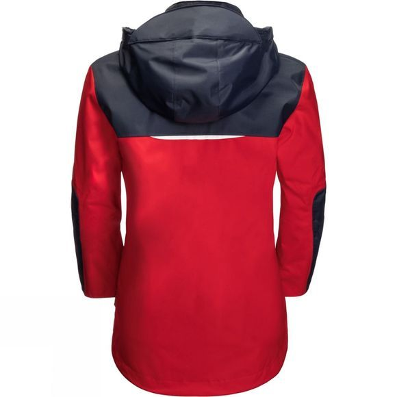 Jack Wolfskin Kids Jasper Jacket 14+ Peak Red