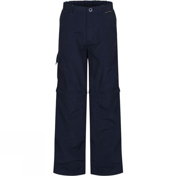 Regatta Kids Sorcer Zip-Off Trousers Navy