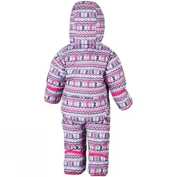 Columbia Boys Snuggly Bunny 1 Piece Rosewater Zigzag Print