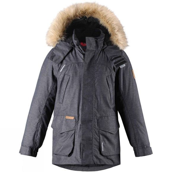 Reima Boys Ugra Down Parka 14+ Charcoal