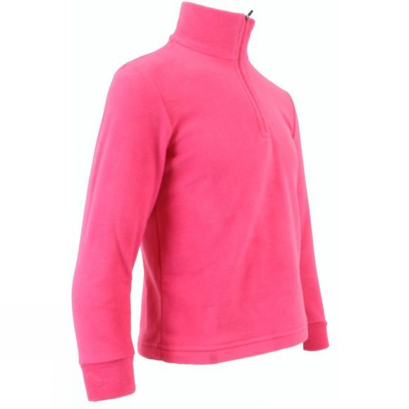 Snow and Rock Kids Micro Fleece 14+ Geranio Pink