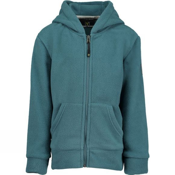 Ayacucho Boys Oak Full Zip Fleece Hoody  Petrol