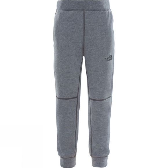 The North Face Boys Mountain Slacker Trousers 14+ Medium Grey Heather