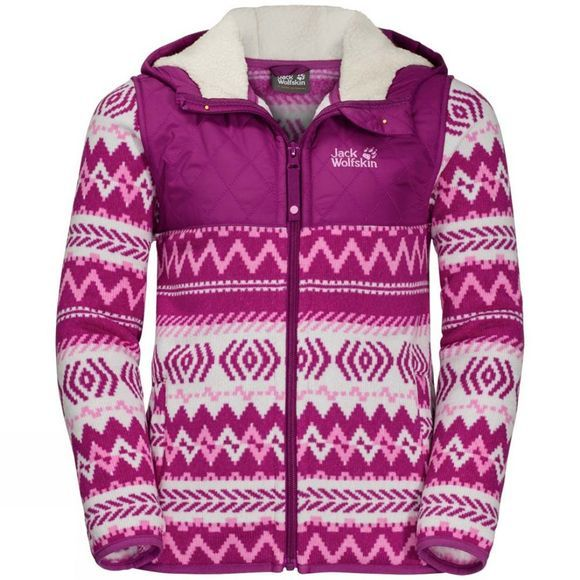 Kids Nordic Hooded Jacket
