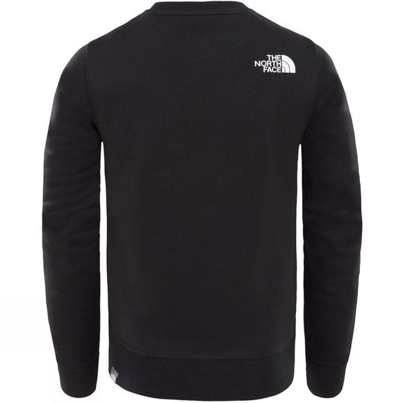 The North Face YOUTH BOX DREW PEAK CREW TNF Black/TNF Black