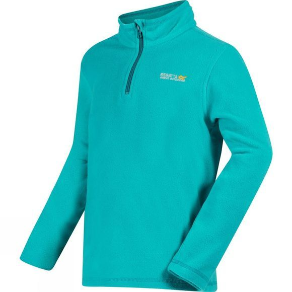 Regatta Youths Hot Shot II Fleece Age 14+ Aqua/Enamel