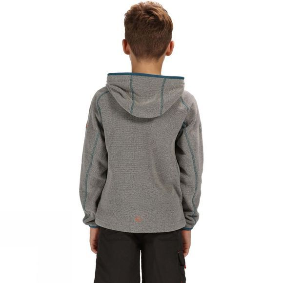 Regatta Childrens Bramar Hoodie 14+ Rock Grey