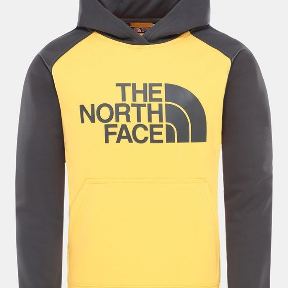 The North Face Boys Surgent Pull Over Hoodie 14+ Tnf Yellow/Asphalt Grey