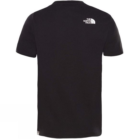 The North Face Boy's Short Sleeve Easy Tee TNF Black/TNF White