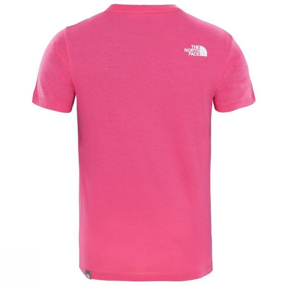 The North Face Boy's Short Sleeve Easy Tee Petticoat Pink