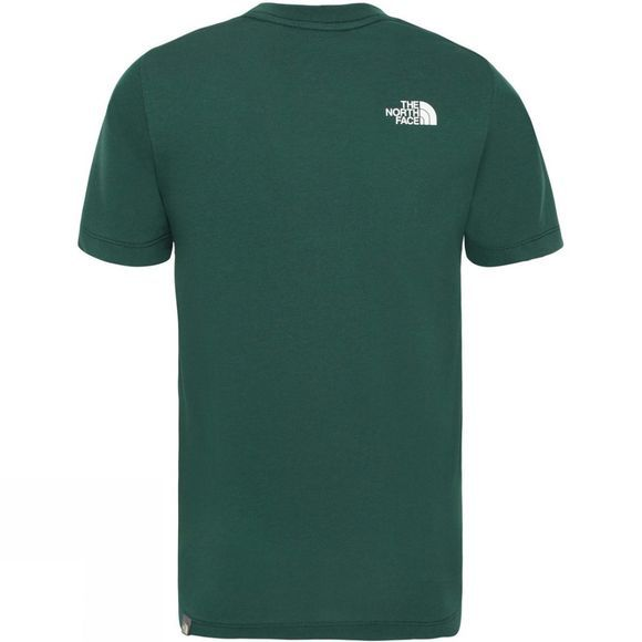 The North Face Boy's Short Sleeve Easy Tee Night Green