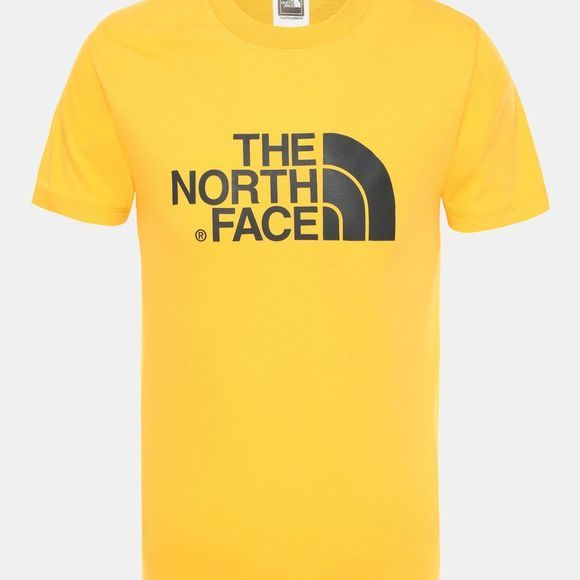 The North Face Boy's Short Sleeve Easy Tee Tnf Yellow