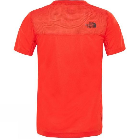 The North Face Boys Reactor T-Shirt 14+ Fiery Red