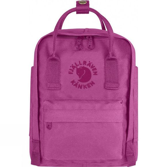 Fjallraven Re-Kånken Mini Rucksack Pink Rose