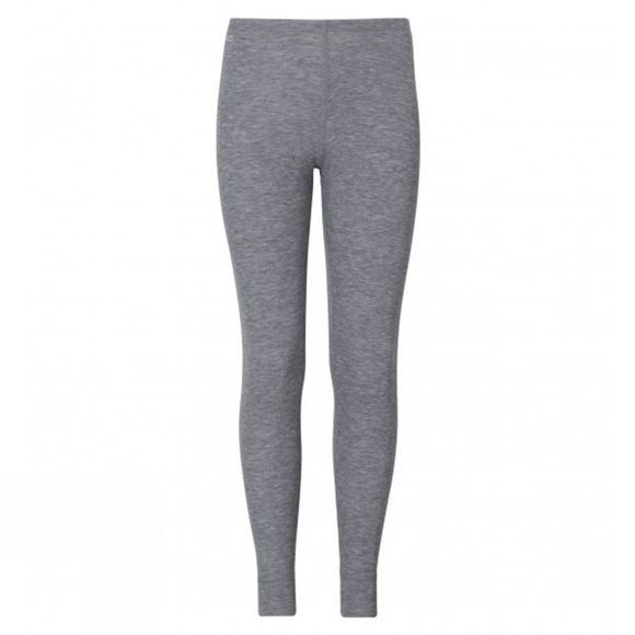 Odlo K Warm Long Pant Age 14+ Grey Melange