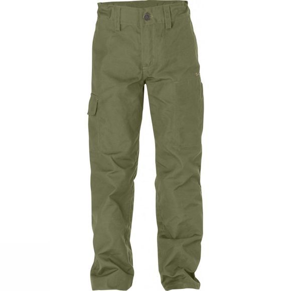 Fjallraven Kid's Övik Trousers Green