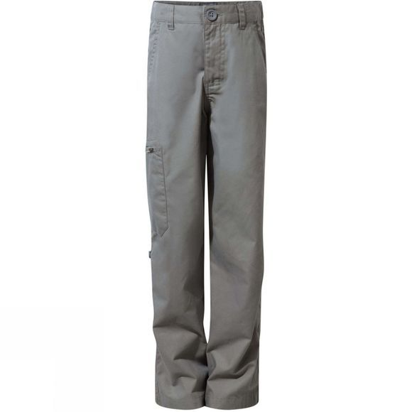 Craghoppers Kids Kiwi II Trousers Platinum
