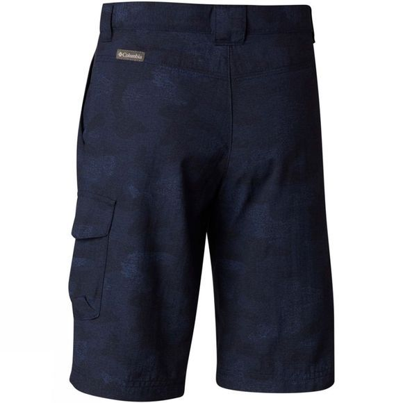 Columbia Boys Silver Ridge Printed Shorts Collegiate Navy
