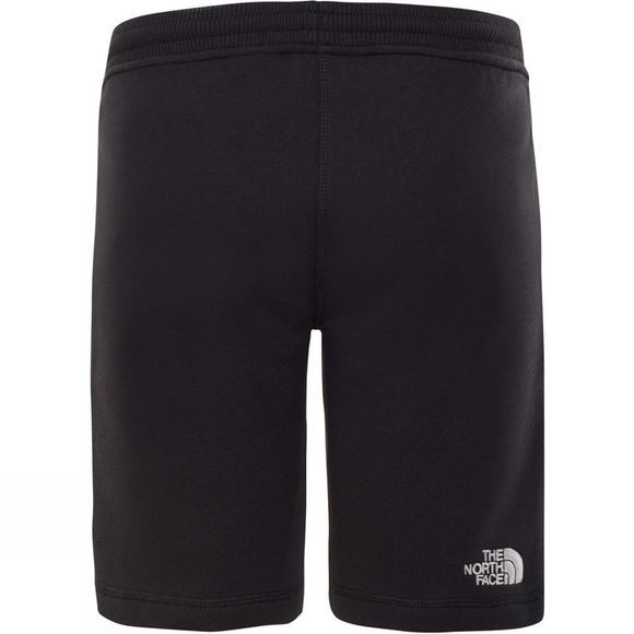 The North Face Youth Fleece Shorts Age 14+ TNF Black/TNF White