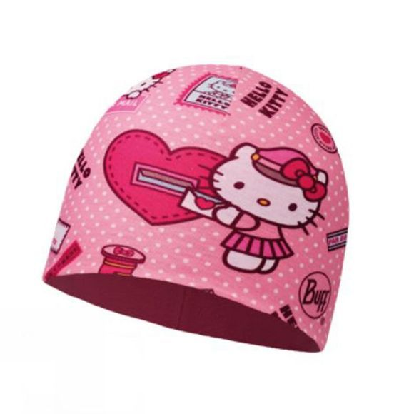 Buff Childrens Microfiber and Polar Hat Hello Kitty Mailing Rose / Paloma Pink