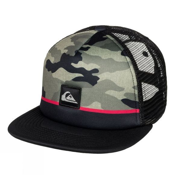 Quiksilver Boys Freshness Trucker Youth  Four Leaf Clover