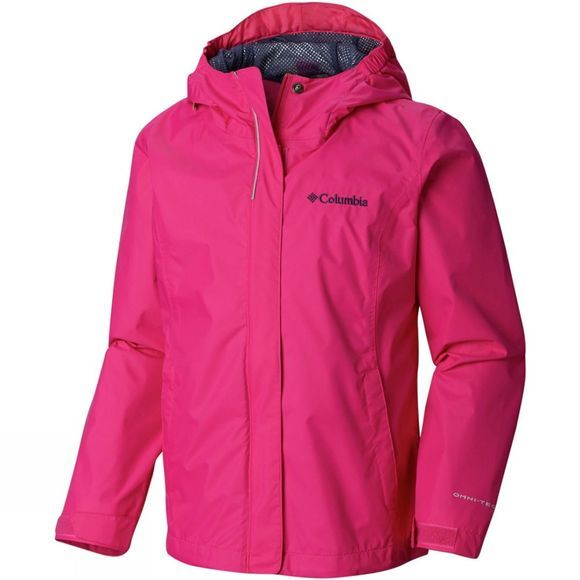 Columbia Girls's Arcadia Jacket Haute Pink/Nocturnal