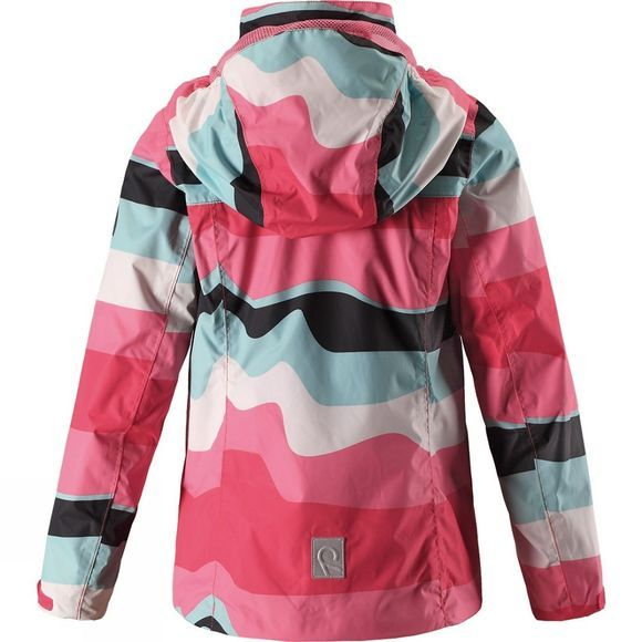 Reima Kids Tibia 3 In 1 Jacket Pink Print