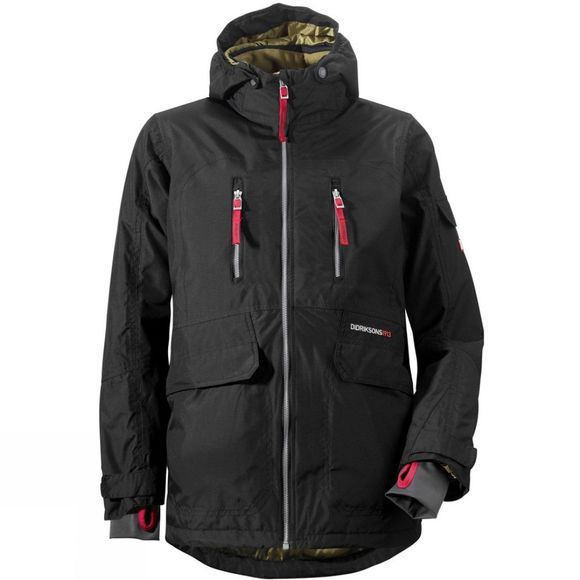 Didriksons Boy's Carter Jacket Black