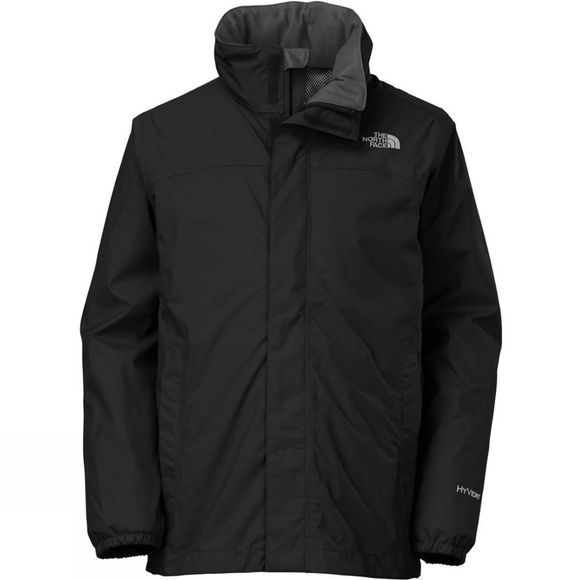 The North Face Kid's Resolve Reflective Jacket Black