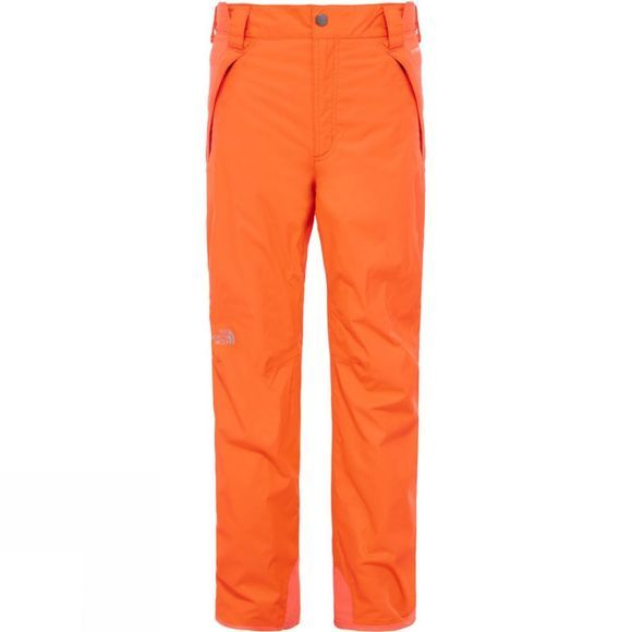 The North Face Boy's Freedom Insulated Pant Orange