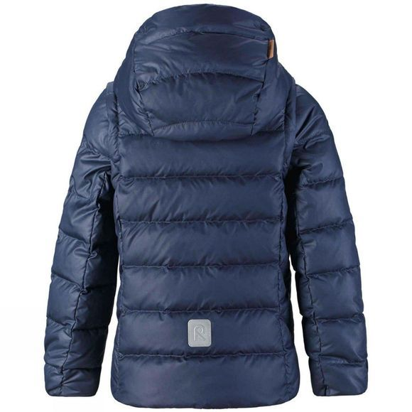 Reima Girl's Minna Down Jacket Navy