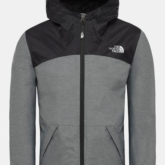 The North Face Girl's Warm Storm Jacket TNF Medium Grey Heather