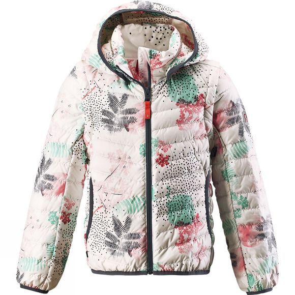 Reima Kids Float Down Jacket White Print