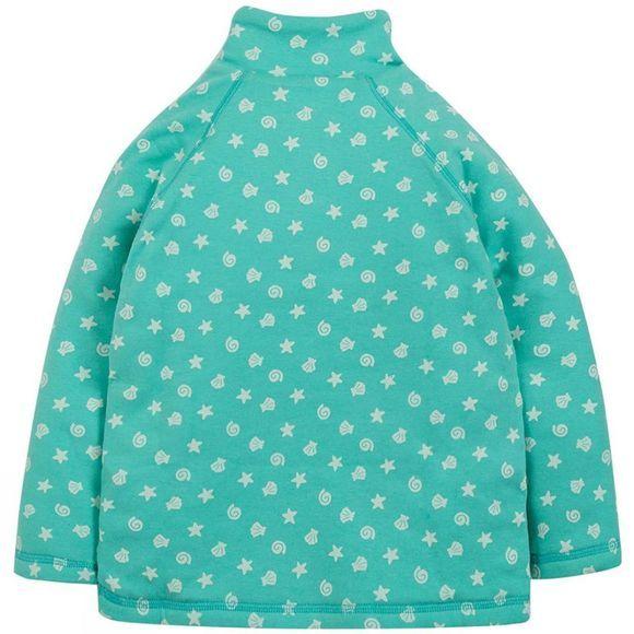 Frugi Children's Snuggle Fleece St Agnes Shell Polka SS19