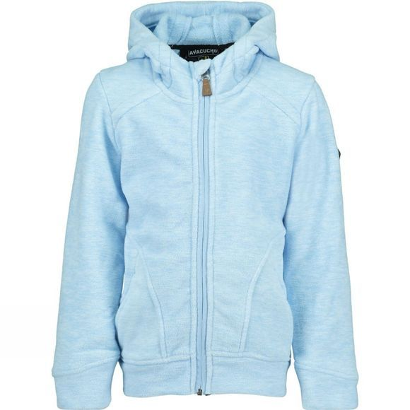 Ayacucho Poppy Full Zip Fleece Age 14+ Light Blue