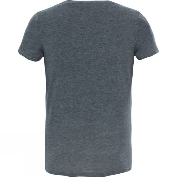 The North Face Girls Short Sleeve Reaxion Tee Medium Grey Heather