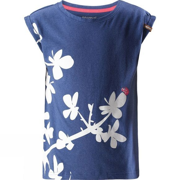 Reima Kids Leinikki T-Shirt Navy Blue