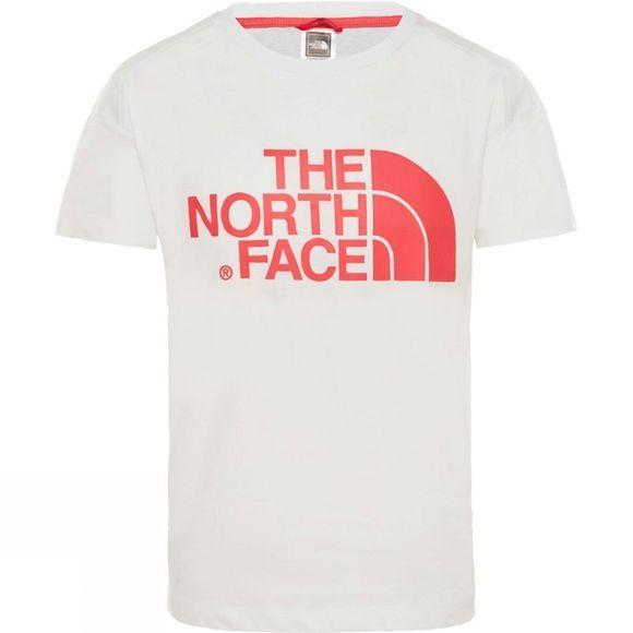 The North Face Girls Boyfriend Short Sleeve T-Shirt 14+ TNF White